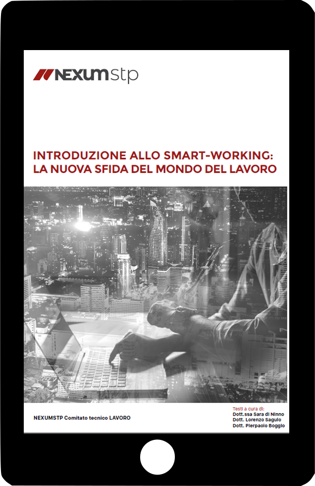 Scarica l'ebook sullo smart working di Nexumstp