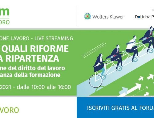 9° Forum One Lavoro in streaming